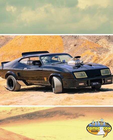 Mad Max Interceptor Niagara Falls Comic Con